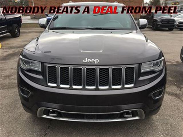 2014 jeep grand cherokee overland fully loaded mississauga ontario used car for sale. Black Bedroom Furniture Sets. Home Design Ideas