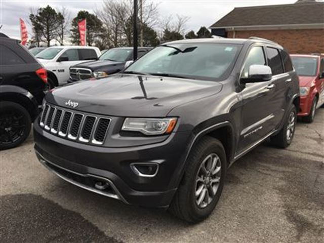 2014 jeep grand cherokee overland fully loaded in mississauga. Cars Review. Best American Auto & Cars Review