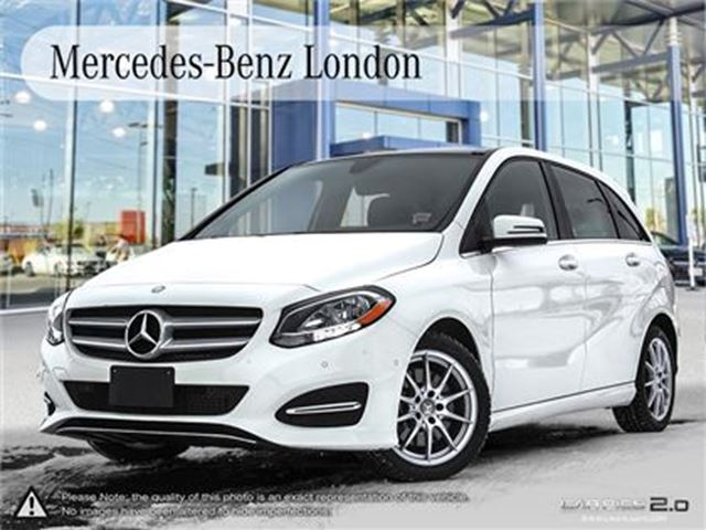 2016 mercedes benz b class 4matic london ontario used. Black Bedroom Furniture Sets. Home Design Ideas