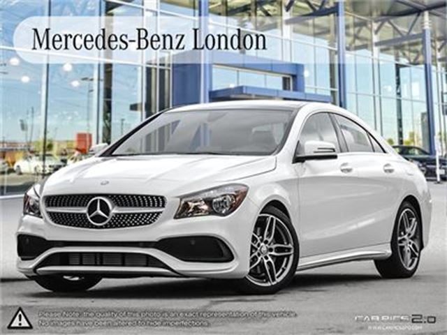 2017 mercedes benz cla250 4matic coupe london ontario for Mercedes benz cla250 4matic