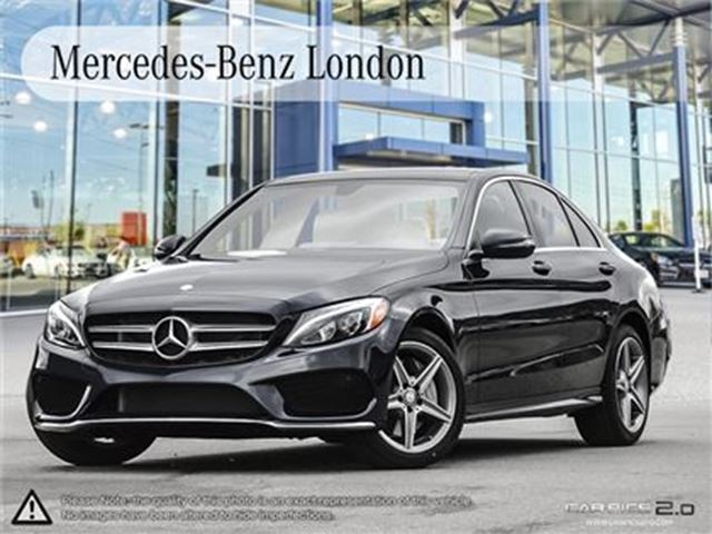 2017 mercedes benz c class c300 4matic sedan london