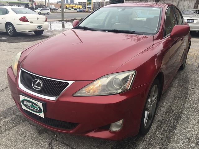 2007 lexus is 250 mississauga ontario used car for sale 2699934. Black Bedroom Furniture Sets. Home Design Ideas