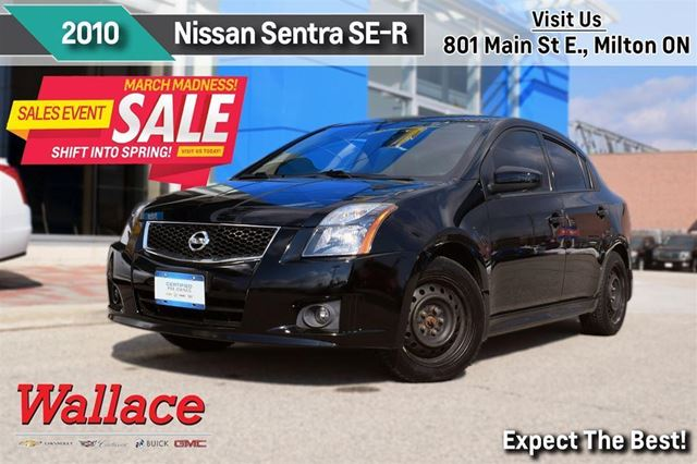 2010 nissan sentra se r nav sport tech pkg winter tires. Black Bedroom Furniture Sets. Home Design Ideas