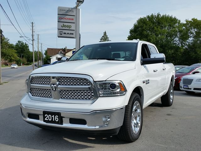 2016 ram 1500 laramie white manley motors limited for Manley motors used cars