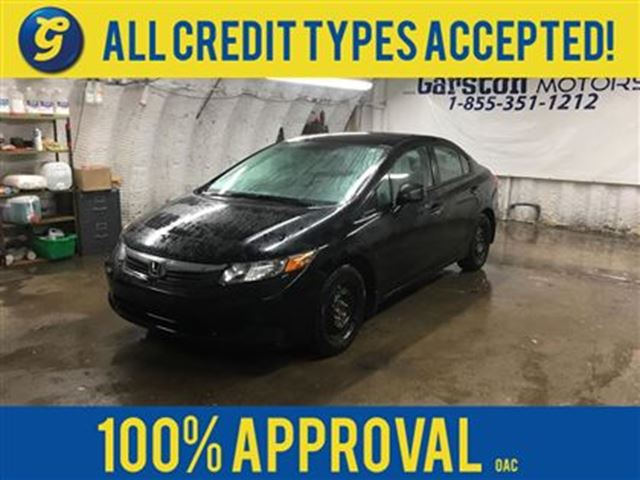 2012 HONDA CIVIC LX*BLUETOOTH HANDSFREE*POWER WINDOWS*ECO MODE* in Cambridge, Ontario