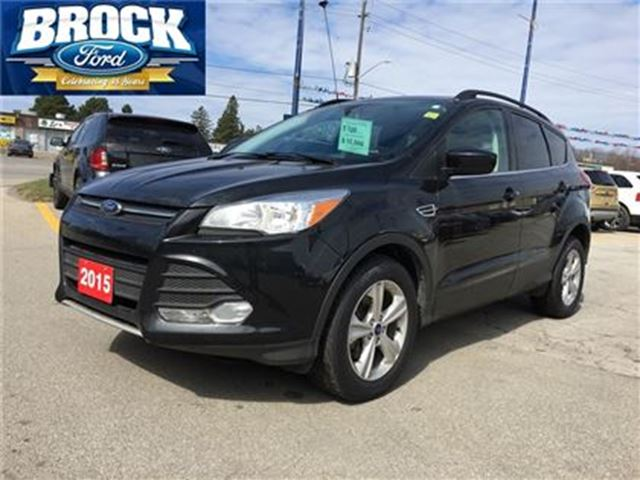 2015 ford escape se no accidents leather camera niagara falls ontario car for sale 2757908. Black Bedroom Furniture Sets. Home Design Ideas