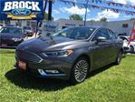 2017 Ford Fusion SE - No Accidents, Leather, Navigation in Niagara Falls, Ontario