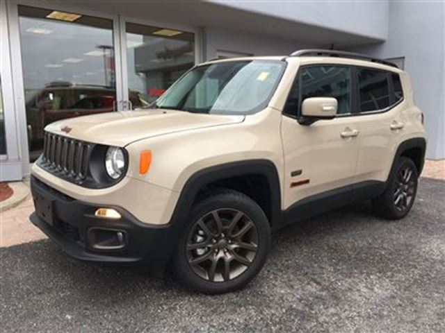 2016 jeep renegade 75th edition almost new simcoe ontario used car for sale 2700810. Black Bedroom Furniture Sets. Home Design Ideas