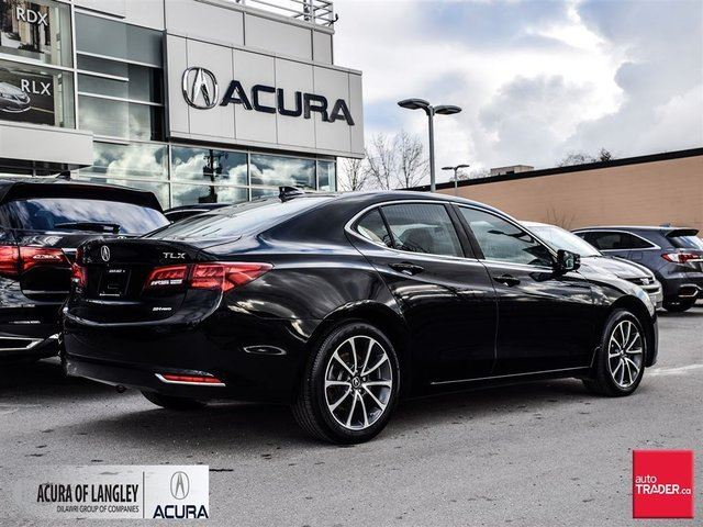 2015 Acura Tlx 3 5l Sh Awd W Tech Pkg Surrey British