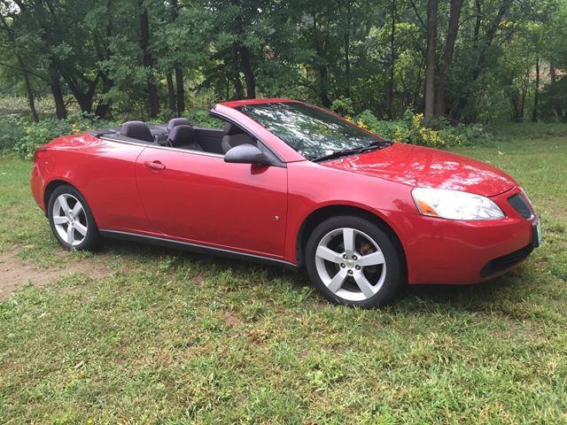 2007 Pontiac G6 GT Convertible Only 94500 km in Perth, Ontario