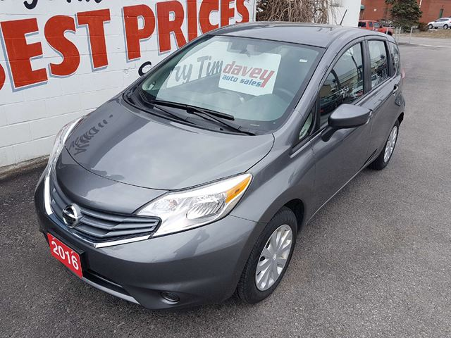 2016 NISSAN VERSA 1.6 SV BACK UP CAMERA, BLUETOOTH, MP3 INPUT in Oshawa, Ontario