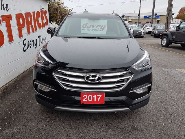 2017 Hyundai Santa Fe 2 4 Premium Leather Interior