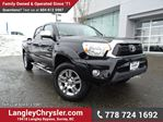 2013 Toyota Tacoma Base V6 ACCIDENT FREE w/ NAVIGATION & HEATED SEATS in Surrey, British Columbia