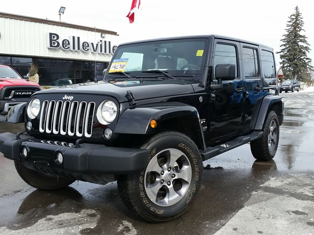 2016 Jeep Wrangler Unlimited Sahara-Navigation-Bluetooth in Belleville, Ontario