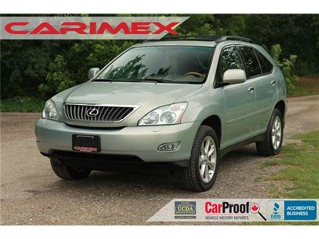 2009 LEXUS RX 350 Sunroof + Leather + CERTIFIED in Kitchener, Ontario