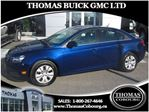 2013 Chevrolet Cruze LT Turbo - LOW KMS! in Cobourg, Ontario