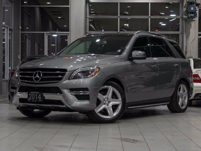 2014 mercedes benz m class ml350 bluetec 4matic grey