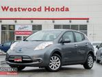 2015 Nissan Leaf S No gas, Quick Charge in Port Moody, British Columbia