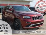 2016 Jeep Grand Cherokee OVERLAND, SAVE OVER $15,000 in Bonnyville, Alberta