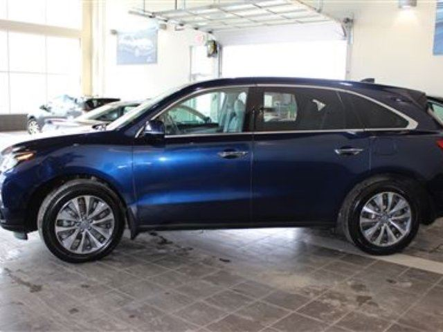 2016 Acura MDX Technology PKG with Navigation, AWD, Rear DVD - Red Deer, Alberta Used Car For ...