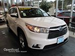 2015 Toyota Highlander Limited - Navigation, Bluetooth, Heated and Ven in Port Moody, British Columbia