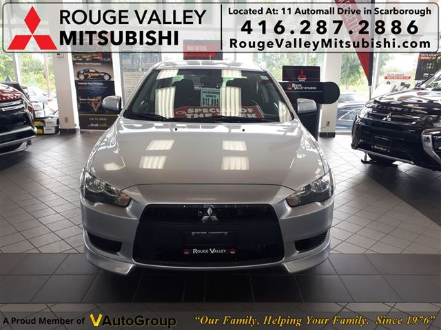 2012 MITSUBISHI Lancer ES, NO ACCIDENT,   FROM 1.9% FINANCING AVAILABL in Scarborough, Ontario