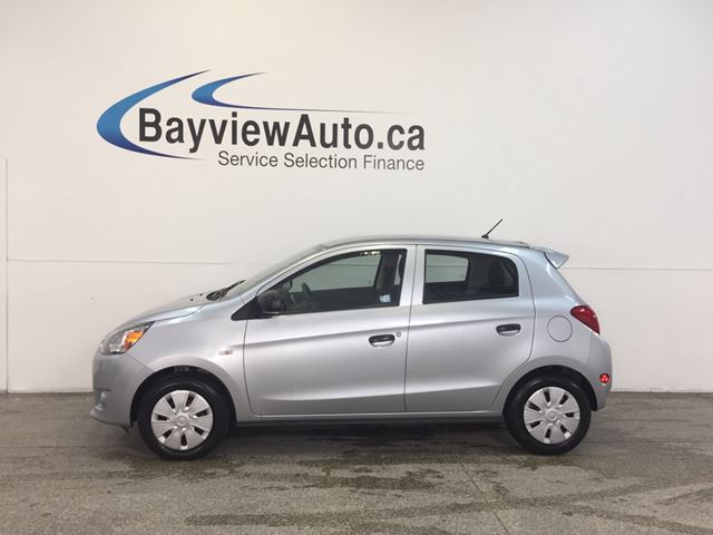2015 MITSUBISHI MIRAGE - 1.2L! AUTO! A/C! BLUETOOTH! BUDGET BUDDY! in Belleville, Ontario