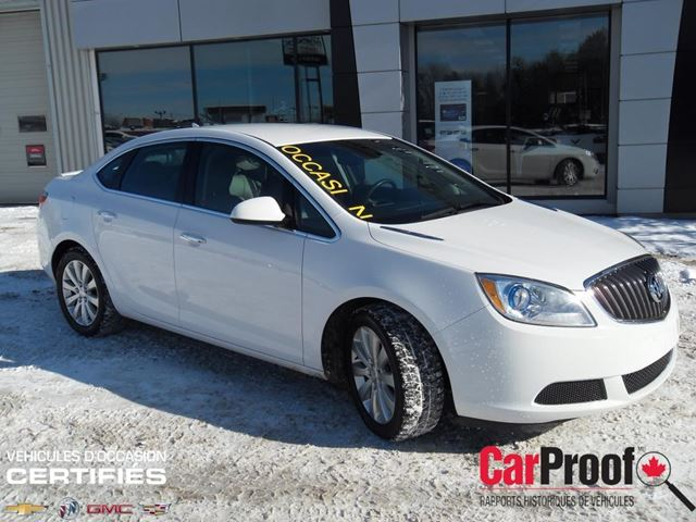 2012 Buick Verano W 1sb Granby Quebec Used Car For Sale