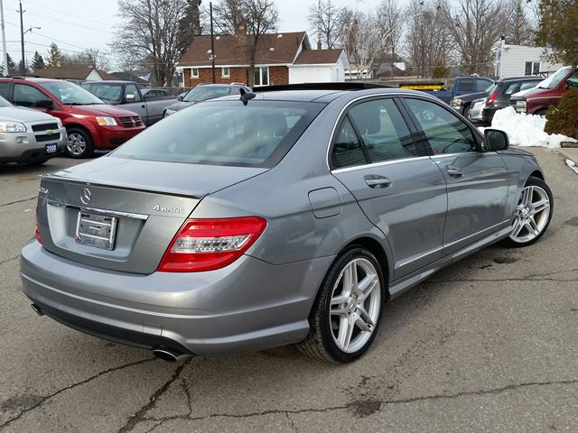 2009 mercedes benz c class c350 4 matic with pano roof for 2009 mercedes benz c350