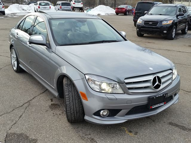 2009 mercedes benz c class c350 4 matic with pano roof for Mercedes benz 2009 c350