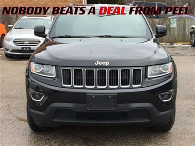 2014 jeep grand cherokee laredo special price mississauga ontario used car for sale 2702643. Black Bedroom Furniture Sets. Home Design Ideas