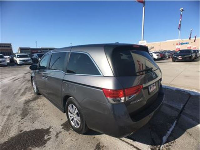 2014 honda odyssey ex l w navi brampton ontario used car for sale 2702239. Black Bedroom Furniture Sets. Home Design Ideas