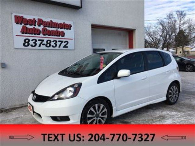 2013 Honda Fit Sport (A5) in Winnipeg, Manitoba