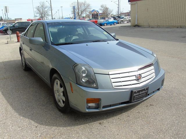 2007 cadillac cts leather winnipeg manitoba used car for sale 2702304. Black Bedroom Furniture Sets. Home Design Ideas