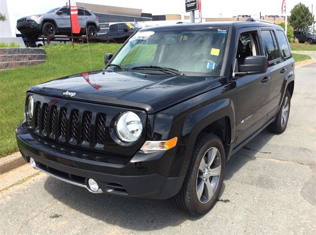 used 2016 jeep patriot high altitude 4x4 dartmouth. Black Bedroom Furniture Sets. Home Design Ideas