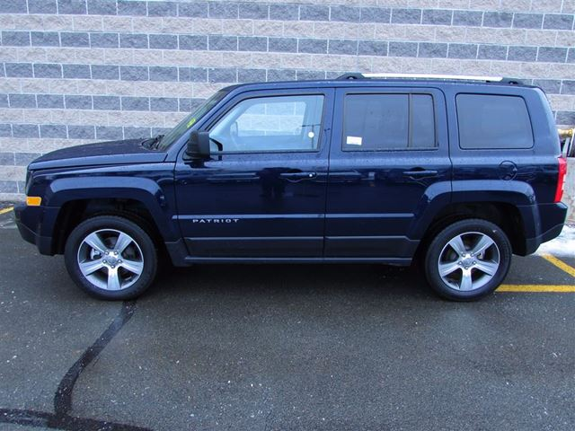 2016 jeep patriot high altitude leather 4x4 dartmouth nova scotia used car for sale 2702369. Black Bedroom Furniture Sets. Home Design Ideas