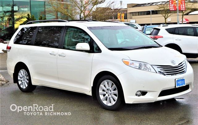 2014 Toyota Sienna XLE Limited AWD in Richmond, British Columbia