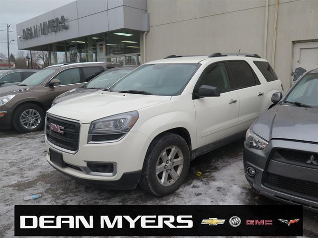 2014 gmc acadia sle2 toronto ontario car for sale 2702646. Black Bedroom Furniture Sets. Home Design Ideas