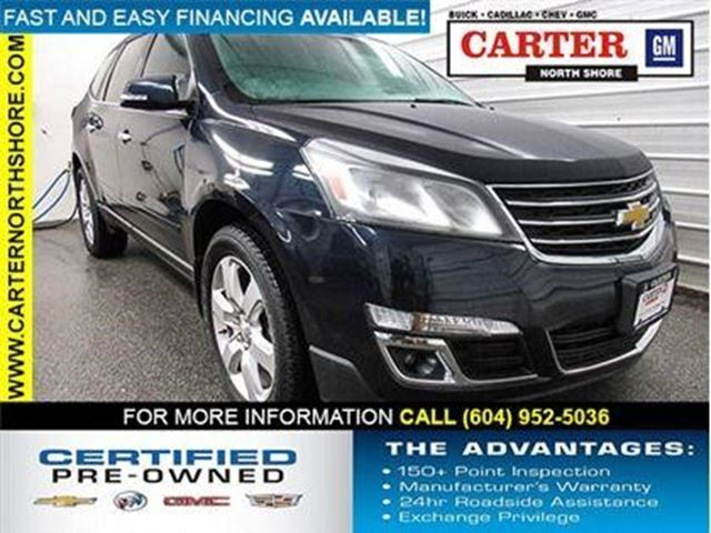2016 Chevrolet Traverse LT in North Vancouver, British Columbia