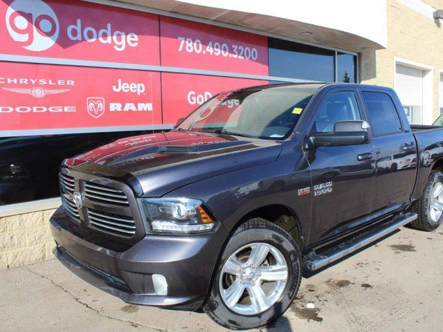 2014 dodge ram 1500 sport 4x4 crew cab gps navigation rear back up camera edmonton. Black Bedroom Furniture Sets. Home Design Ideas