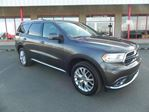 2016 Dodge Durango AWD LIMITED DUAL DVD Accident Free, Rear DVD, Leather, Heated Seats, 3rd Row, Sunroof, Back-up in Sherwood Park, Alberta