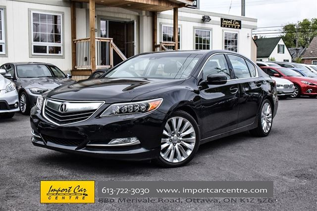 2014 acura rlx tech pkg ottawa ontario car for sale. Black Bedroom Furniture Sets. Home Design Ideas