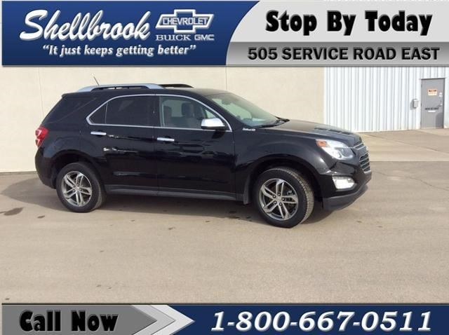 2016 Chevrolet Equinox LTZ in Shellbrook, Saskatchewan