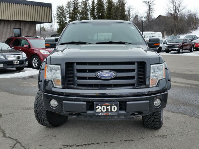 2010 ford f 150 fx4 super cab 4x4 ottawa ontario used car for sale 2702719. Black Bedroom Furniture Sets. Home Design Ideas