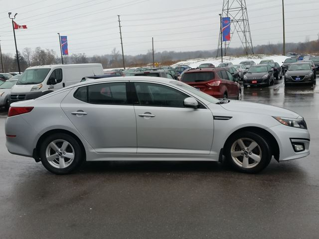2015 kia optima lx silver for 13995 in brantford. Black Bedroom Furniture Sets. Home Design Ideas