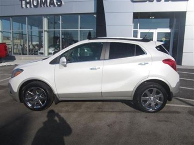 2014 buick encore premium certified b w 160 cobourg ontario used car for sale. Black Bedroom Furniture Sets. Home Design Ideas