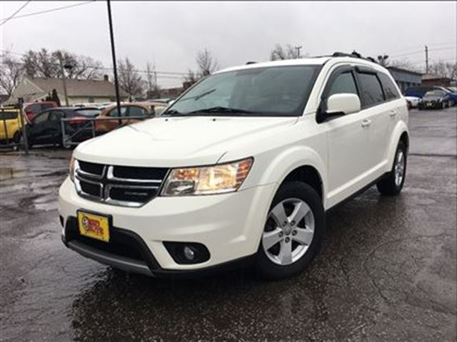 2012 dodge journey sxt crew roof luggage rack white two guys quality cars. Black Bedroom Furniture Sets. Home Design Ideas