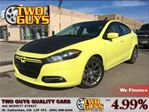 2013 Dodge Dart SXT LOW KMS!! FUN COLOUR!! GREAT BLACKOUT PKG in St Catharines, Ontario