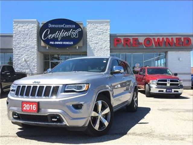 2016 JEEP Grand Cherokee Overland   LUXURY GROUP   CO JEEP in Toronto, Ontario