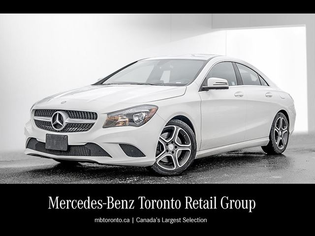 2016 mercedes benz cla250 4matic coupe mississauga for Mercedes benz payment calculator